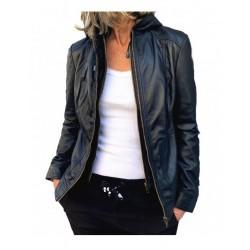 Black leather jacket 779 GEROME